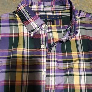 Ralph Lauren Dress shirt Size EX-LARGE